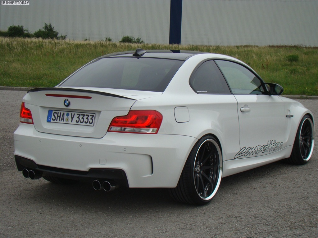 BMW Series M Coupe Tweaked By TVW Car Design Autoevolution - Bmw 1 series m