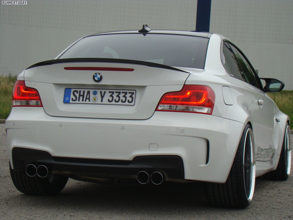 BMW Series M Coupe Tweaked By TVW Car Design Autoevolution - Bmw 1 series m coupe