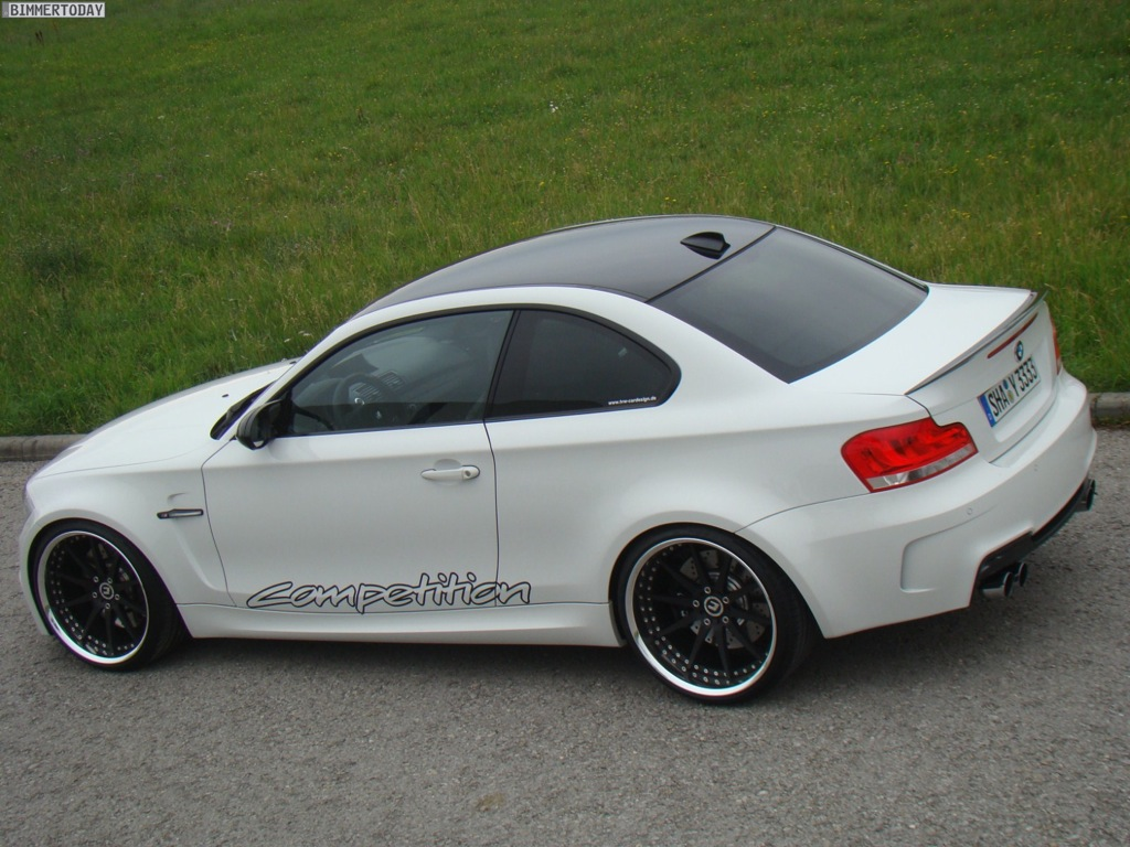 bmw 1 series m coupe tweaked by tvw car design autoevolution. Black Bedroom Furniture Sets. Home Design Ideas