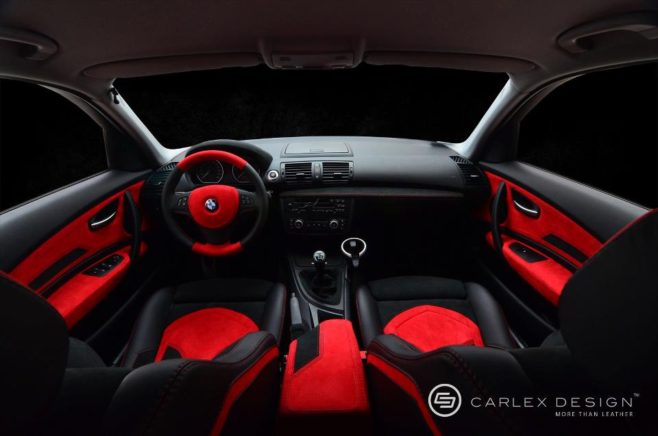 Bmw 1 Series Red And Black Interior By Carlex Autoevolution