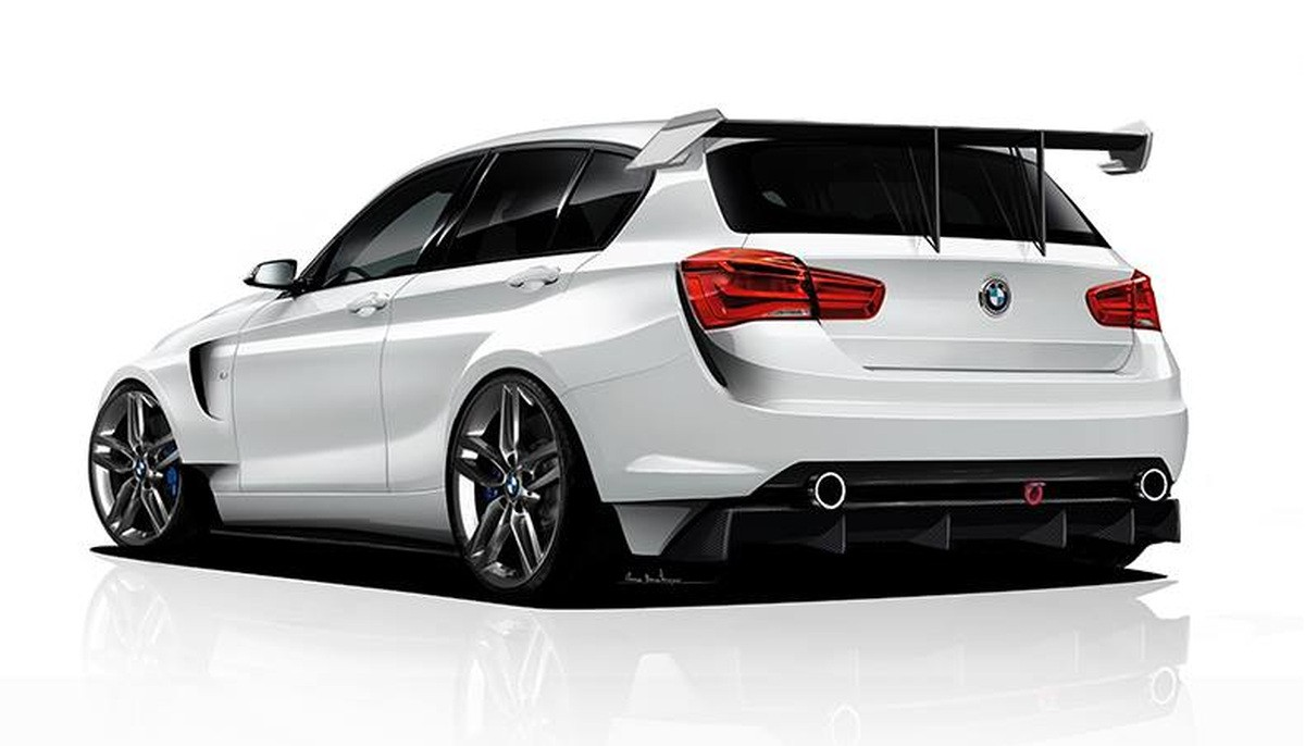 Bmw 1 Series Rendered As Proper Racing Car By Adf Motorsport