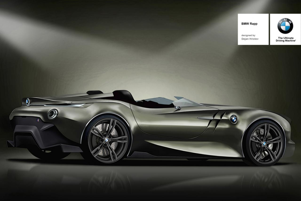 Bmw Th Anniversary Concept Rendered Photo Gallery