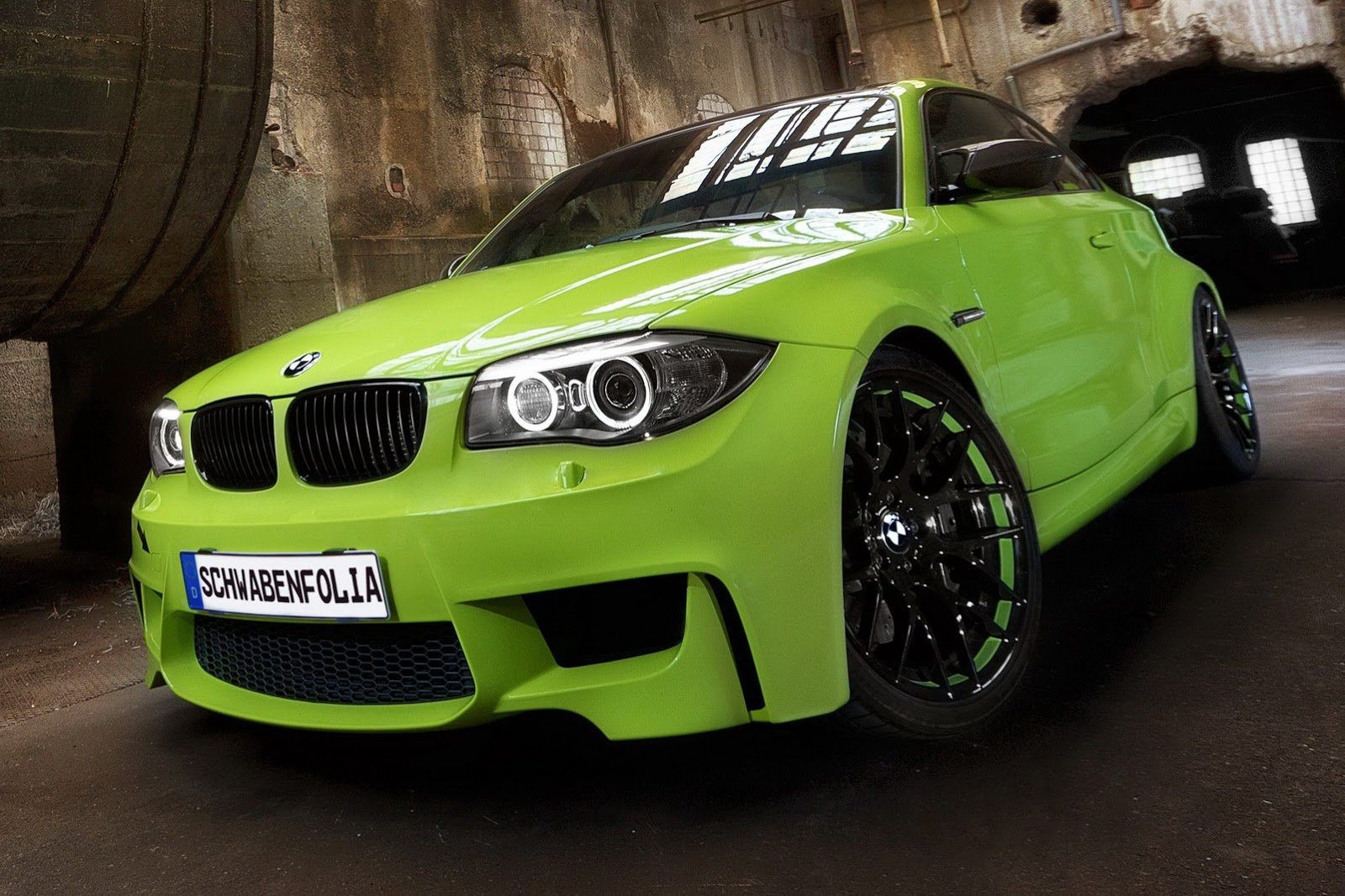 Bmw M Coupe In Irie Green From Schwaben Folia And Veight Video