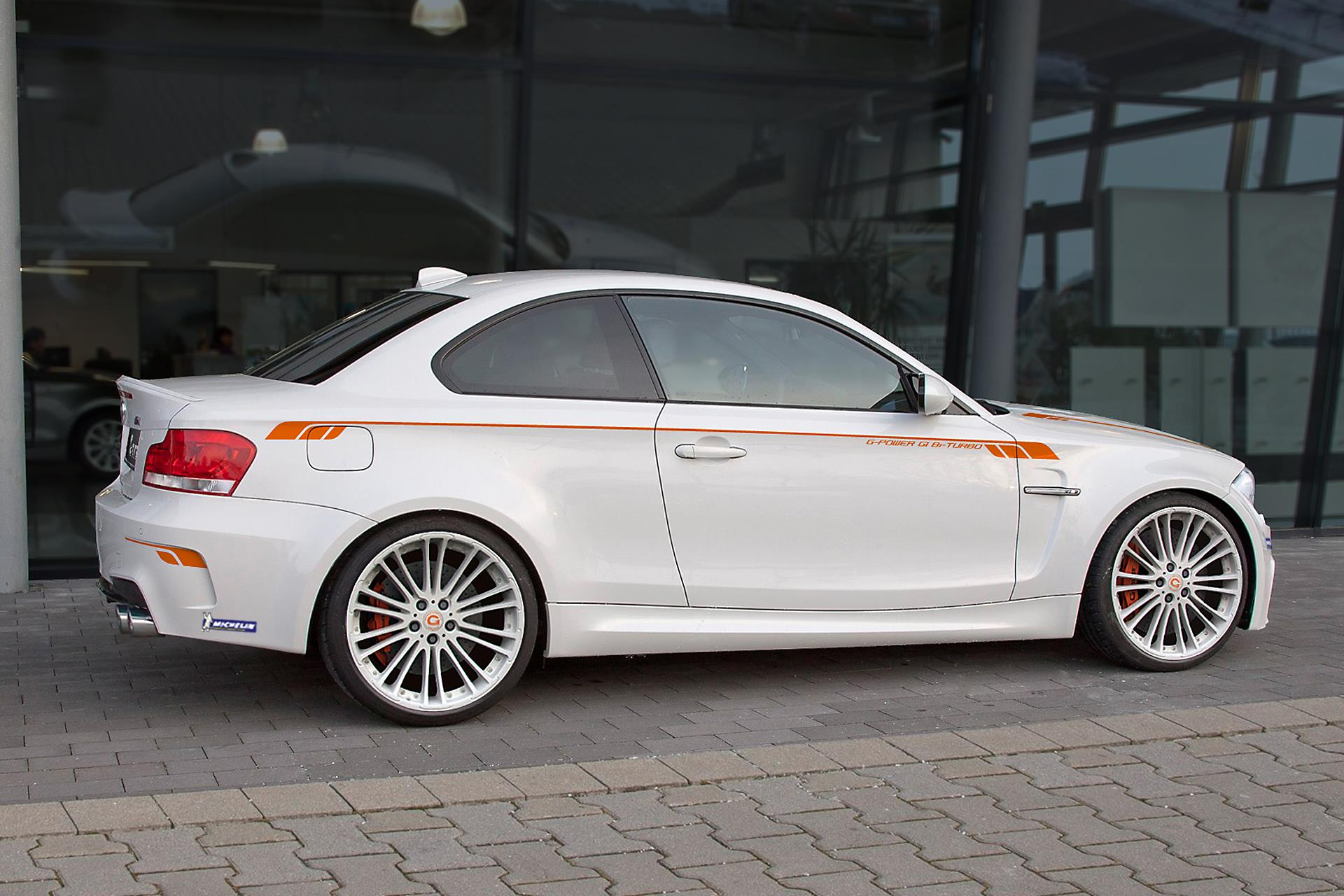 bmw 1m coupe tuned by g power autoevolution. Black Bedroom Furniture Sets. Home Design Ideas
