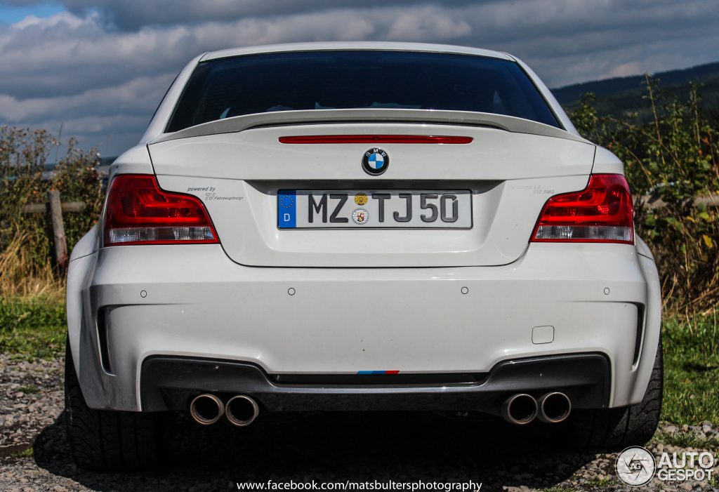 Bmw M Coupe With M S V Is A Hair Rising Experience Video