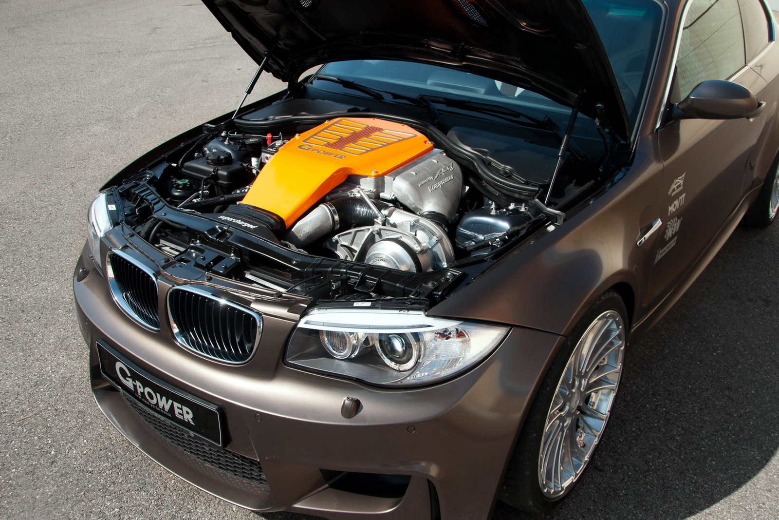 BMW 1M Coupe with Supercharged V8 by G-Power - autoevolution