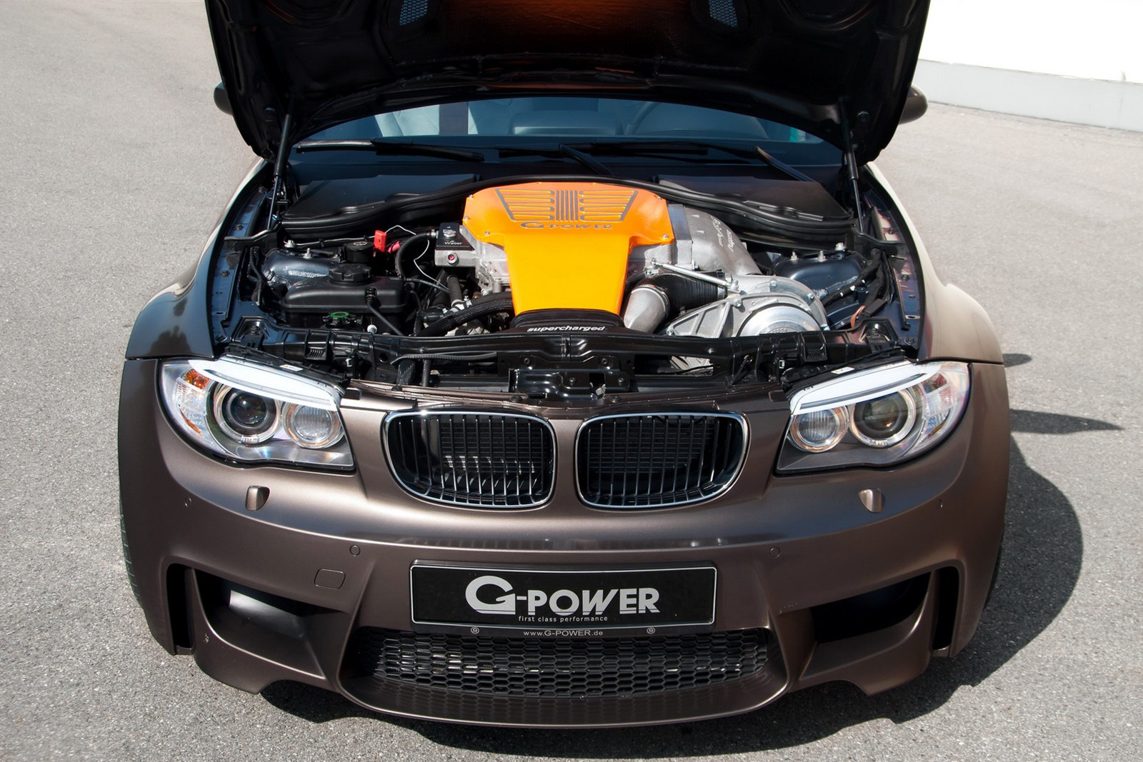 Bmw 1m Coupe With Supercharged V8 By G Power Autoevolution