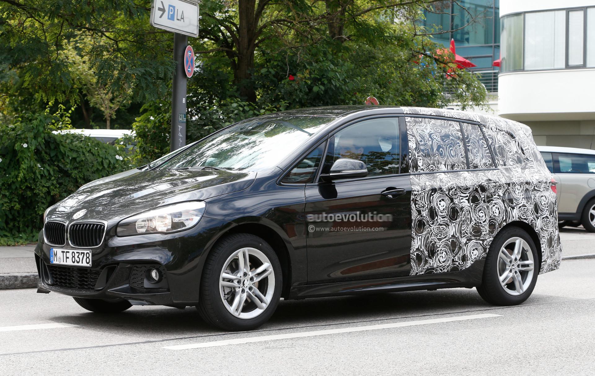 bmw 2 series active tourer 7 seater spotted wearing m. Black Bedroom Furniture Sets. Home Design Ideas