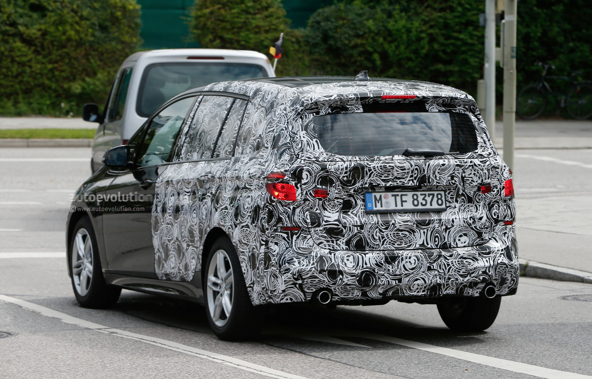 BMW Series Active Tourer Seater Spotted Wearing M Sport - 7 seater bmw suv
