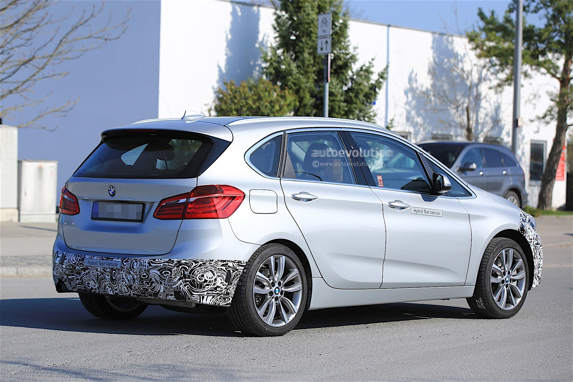 2018 bmw 2 series active tourer facelift spied for the. Black Bedroom Furniture Sets. Home Design Ideas