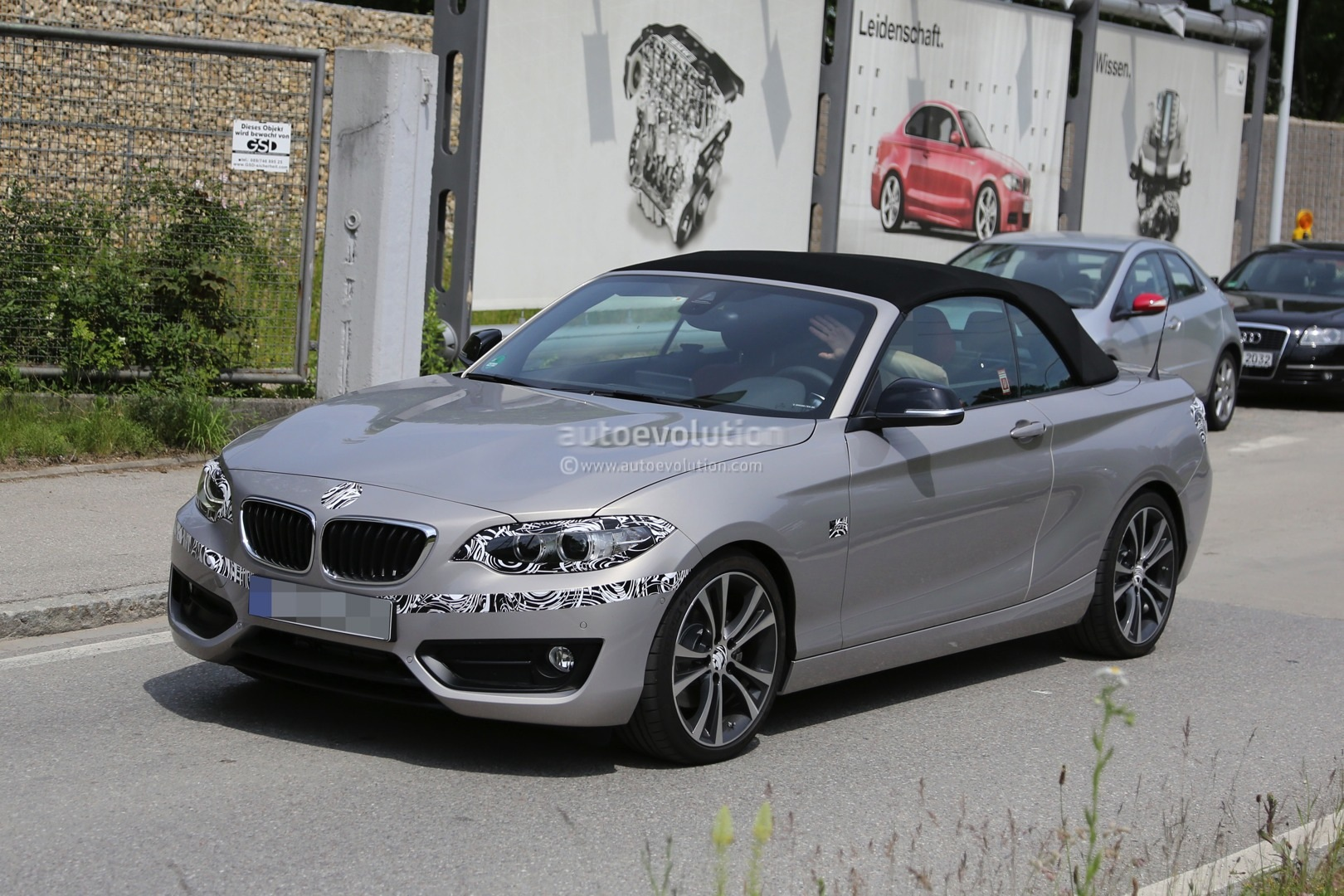 BMW Series Convertible Spied Virtually Undisguised Autoevolution - 2 series bmw price