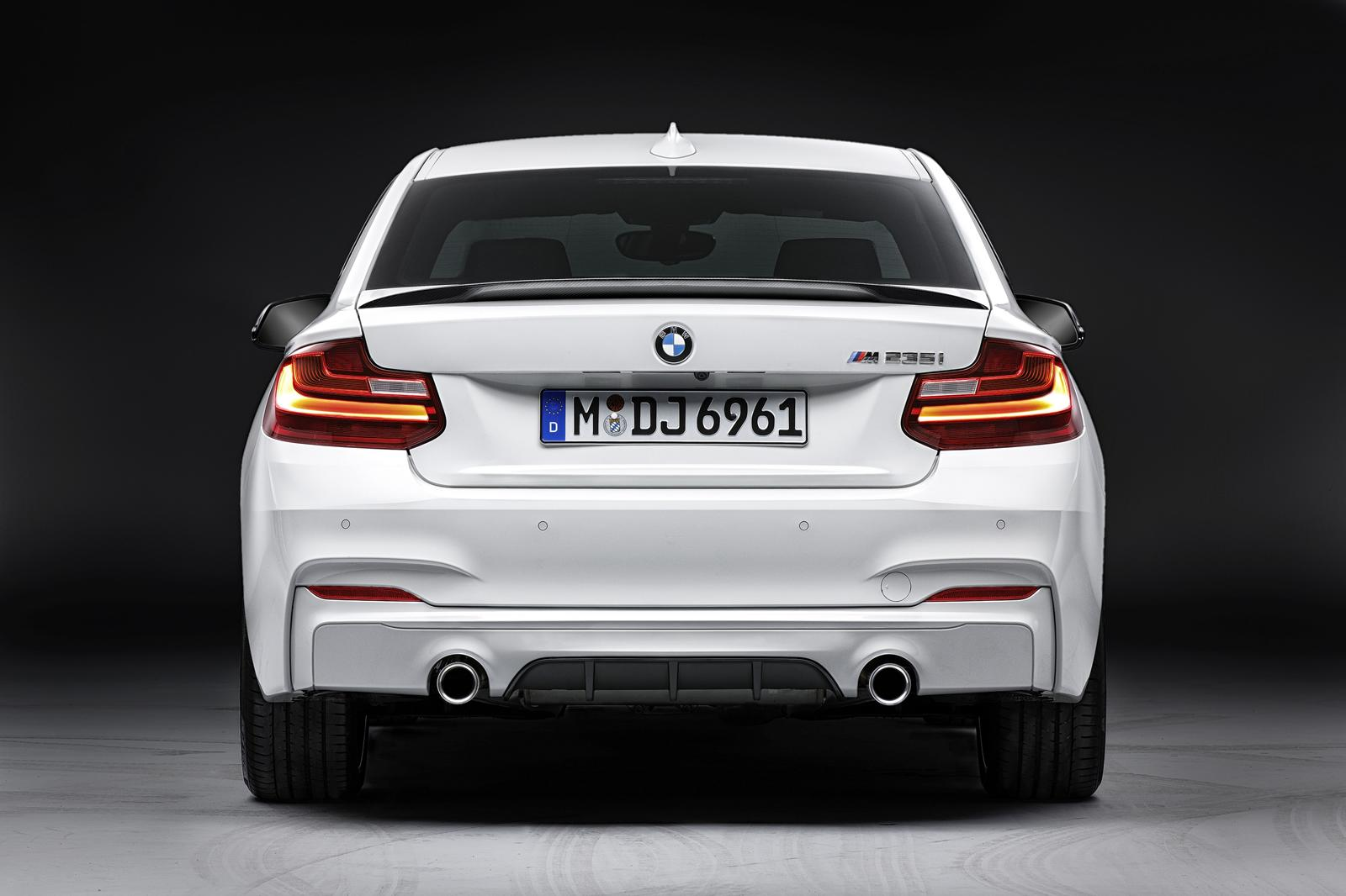 bmw 2 series coupe m performance parts are here autoevolution. Black Bedroom Furniture Sets. Home Design Ideas
