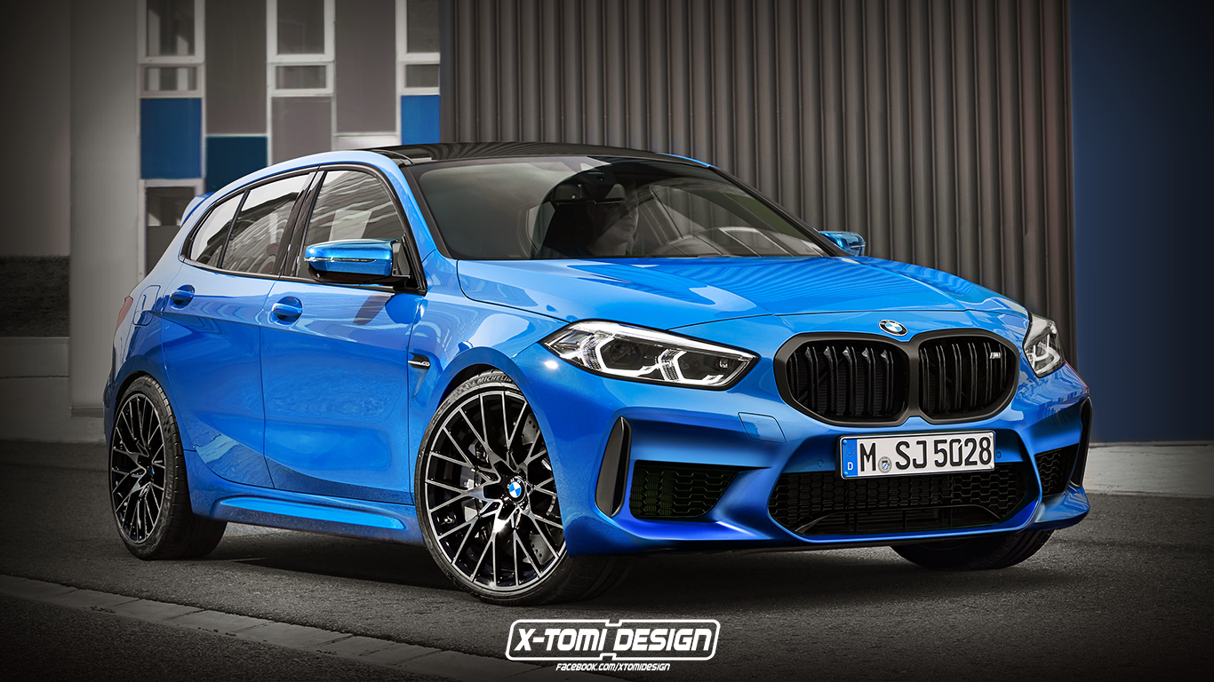 Bmw 2 Series Coupe Rendered Using Fwd Platform M235i Look
