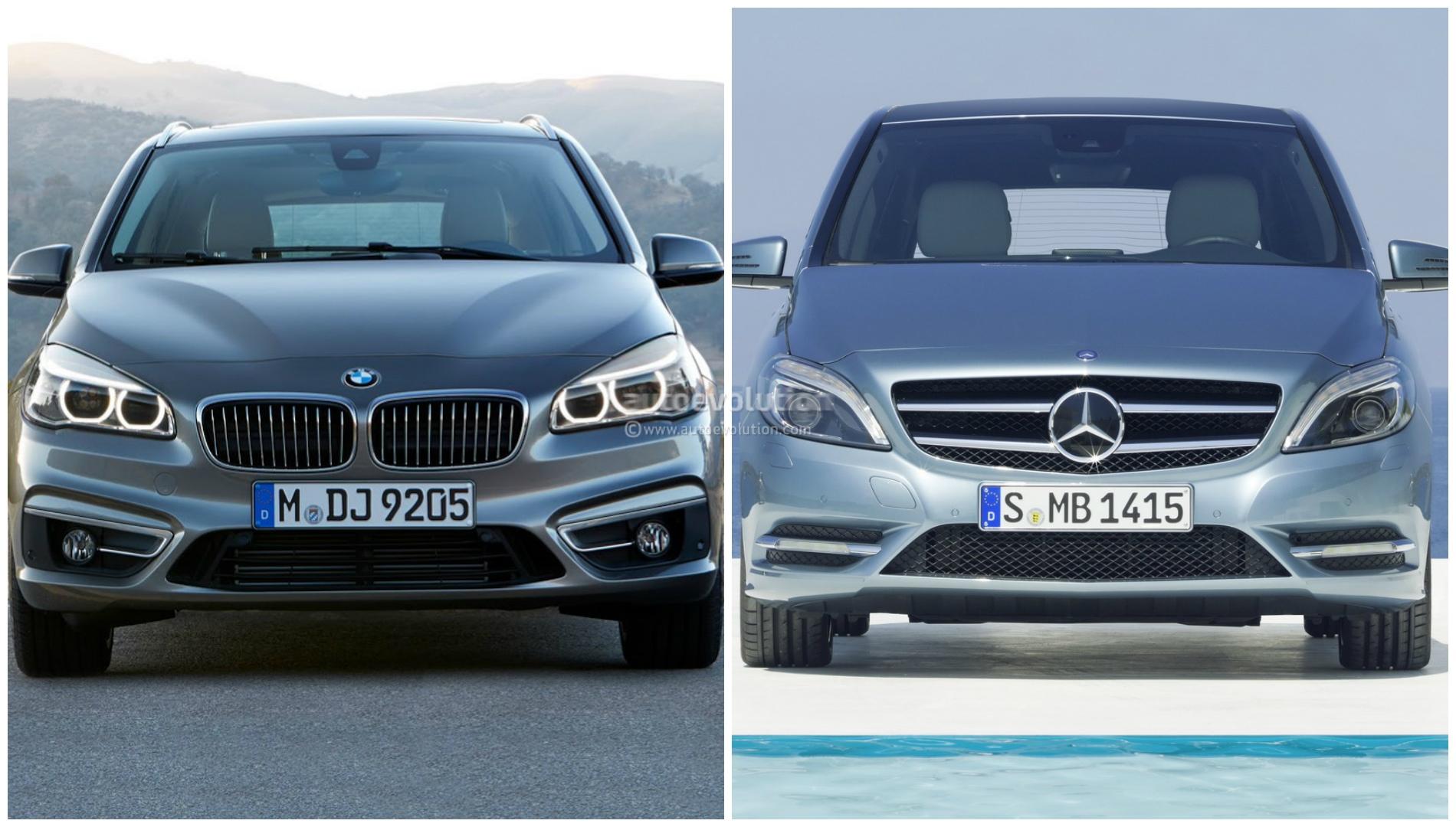 bmw 2 series vs mercedes benz b class photo comparison. Black Bedroom Furniture Sets. Home Design Ideas
