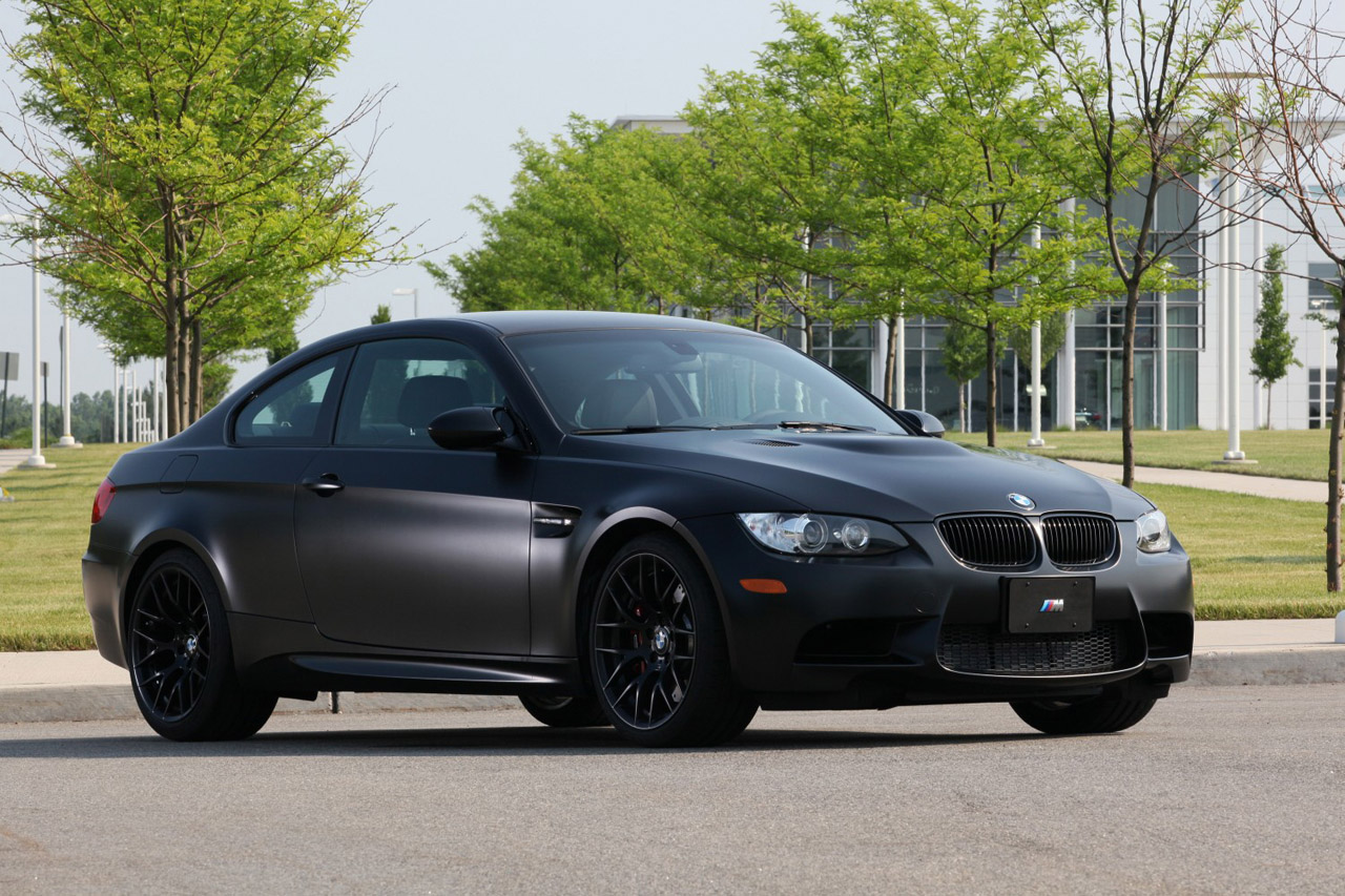 BMW 2011 Frozen Black Edition M3 Coupe Unveiled Only 20