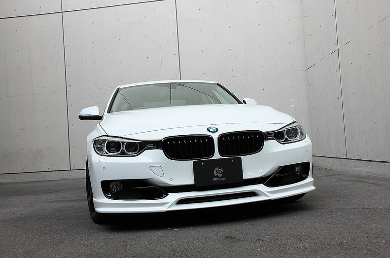 Bmw 3 Series F30 Gets 3d Design Body Kit Autoevolution