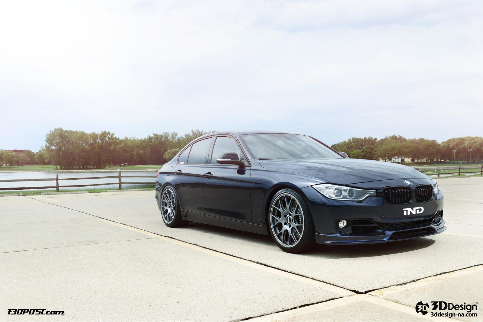 bmw 3 series f30 tuned by 3d design and ind autoevolution. Black Bedroom Furniture Sets. Home Design Ideas