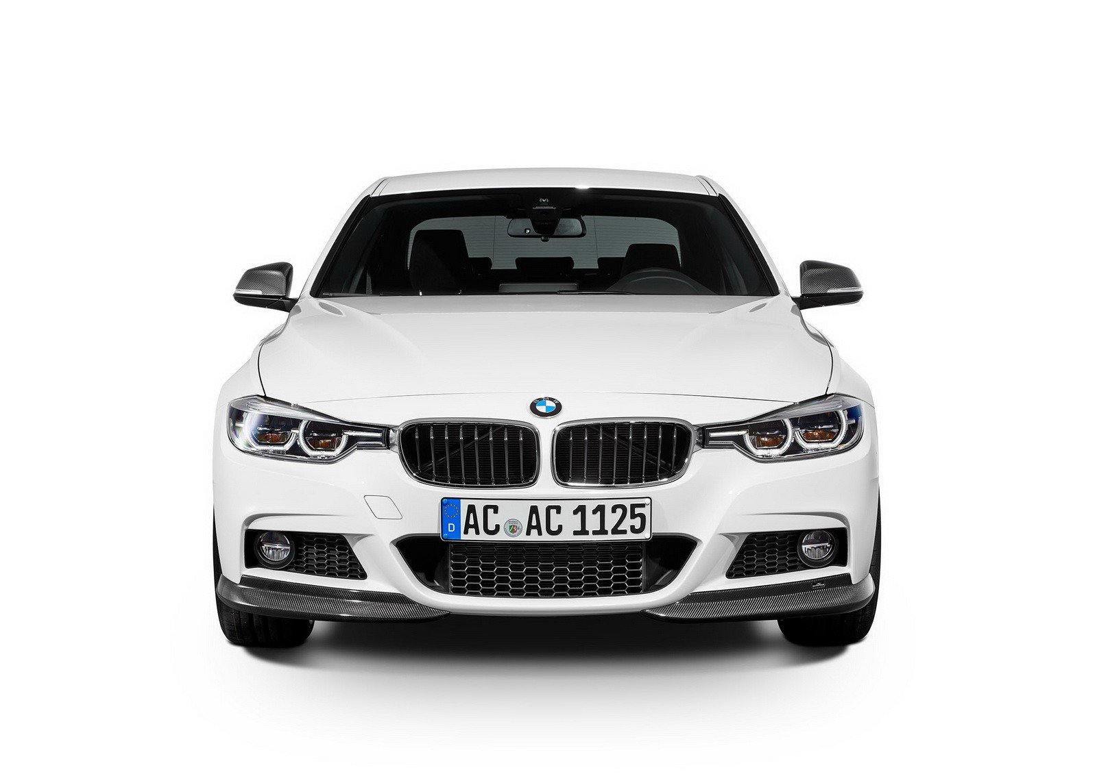BMW 3 Series bmw 3 series in white BMW 3 and 4 Series Get New Parking Assistant Starting This Summer ...