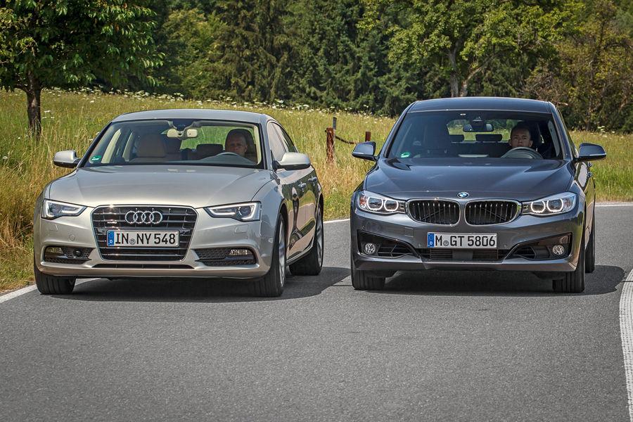 Bmw 3 Series Gt Vs Audi A5 Sportback Comparison Test Bmw Html Autos Weblog