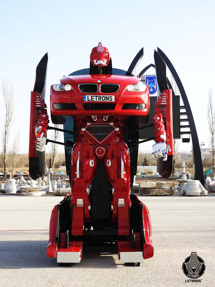BMW Bay Area >> BMW 3 Series Made into Life-Size Transformers Robot ...