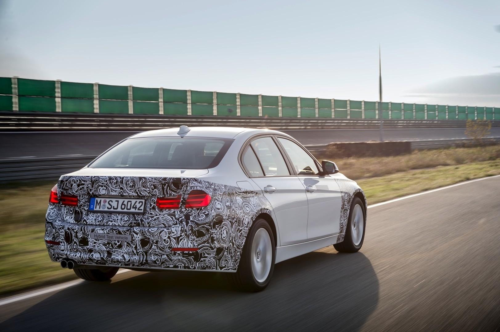 BMW Convertible bmw 7 series hybrid mpg BMW 3 Series Plug-In Hybrid: 245 HP and 117 mpg - autoevolution