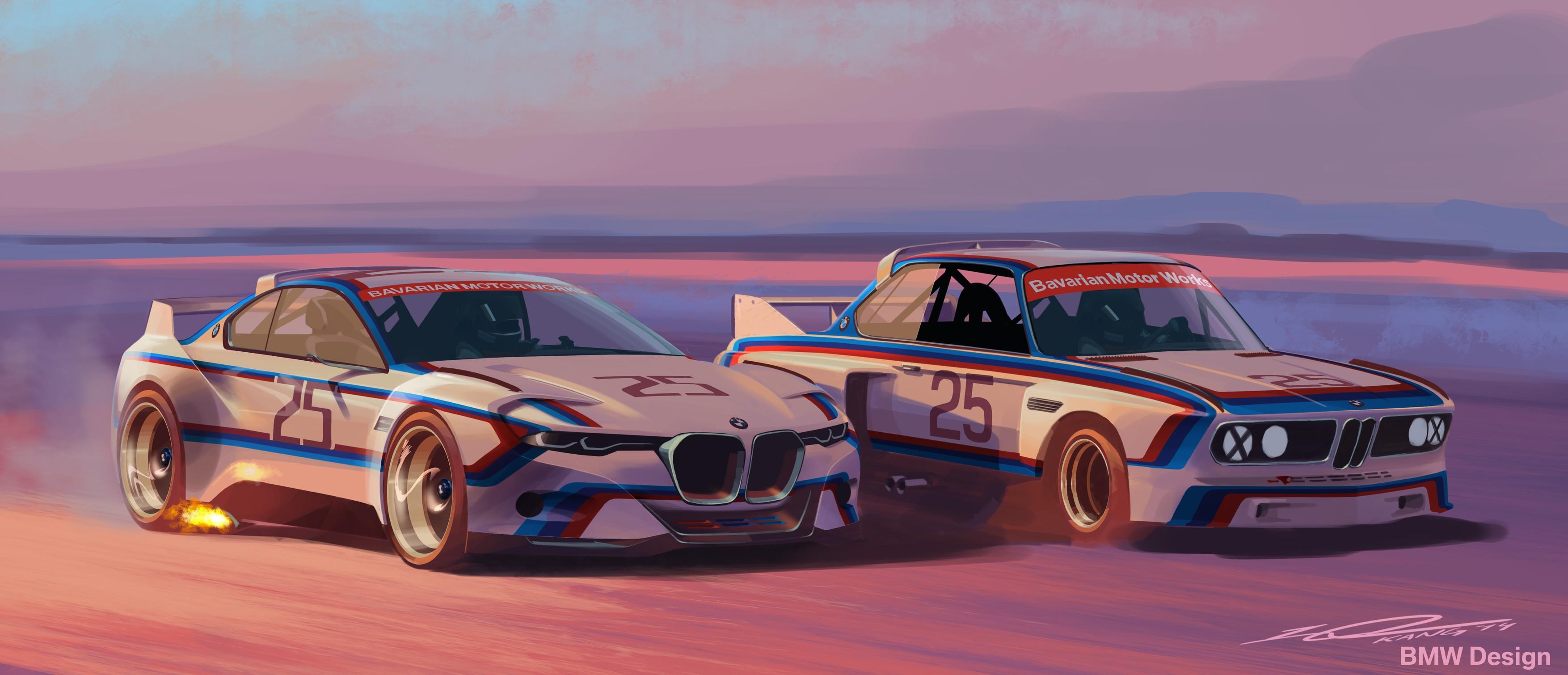 BMW 3.0 CSL Hommage Concept Rendered in Original Racing ...