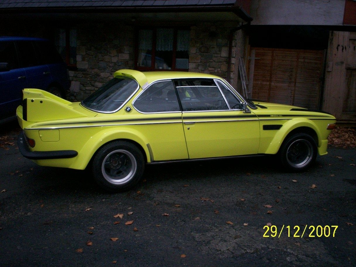 0CSL with Batmobile Widebody Kit Up for Sale on eBay - Photo Gallery