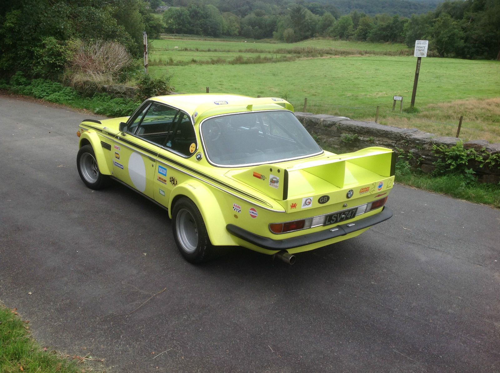Auto For Sale Ebay: BMW 3.0CSL With Batmobile Widebody Kit Up For Sale On EBay