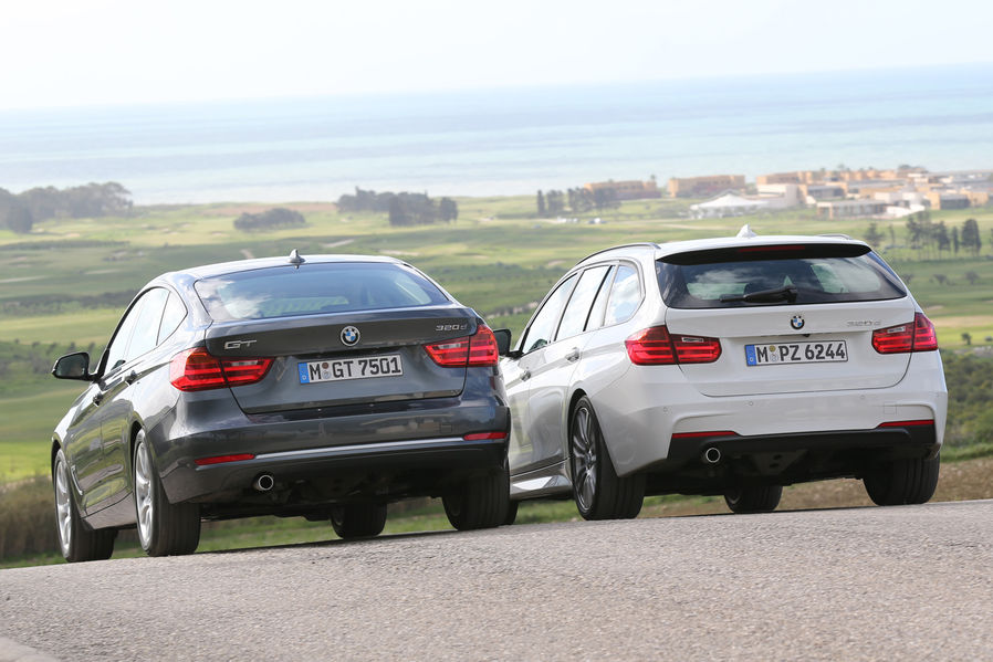 Bmw 320d Touring Vs 320d Gt Test By Auto Motor Und Sport Autoevolution