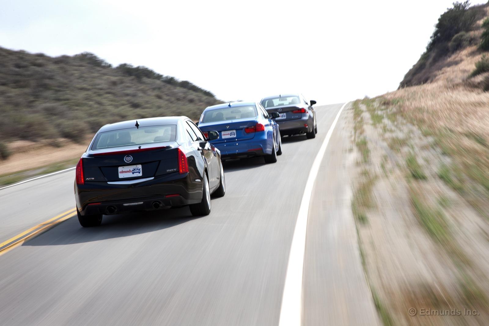 Cadillac ATS vs BMW 328I