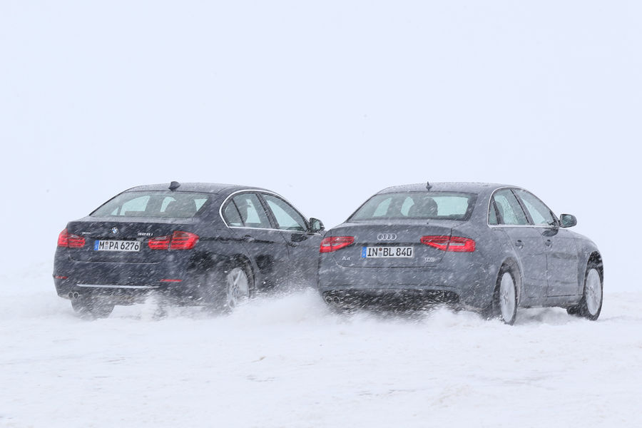 Bmw 328i Xdrive Vs Audi 2 0 Tfsi Quattro Comparison Test