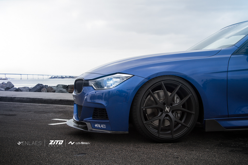 Bmw 335i Jumps On Zito Wheels And Surprises Autoevolution