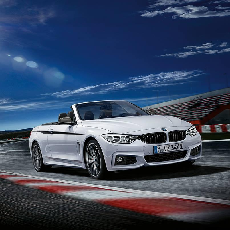 BMW 4 Series Convertible also Has M Performance Parts ...
