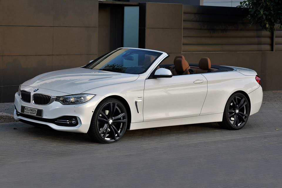 bmw 4 series convertible gets new rims from kelleners. Black Bedroom Furniture Sets. Home Design Ideas