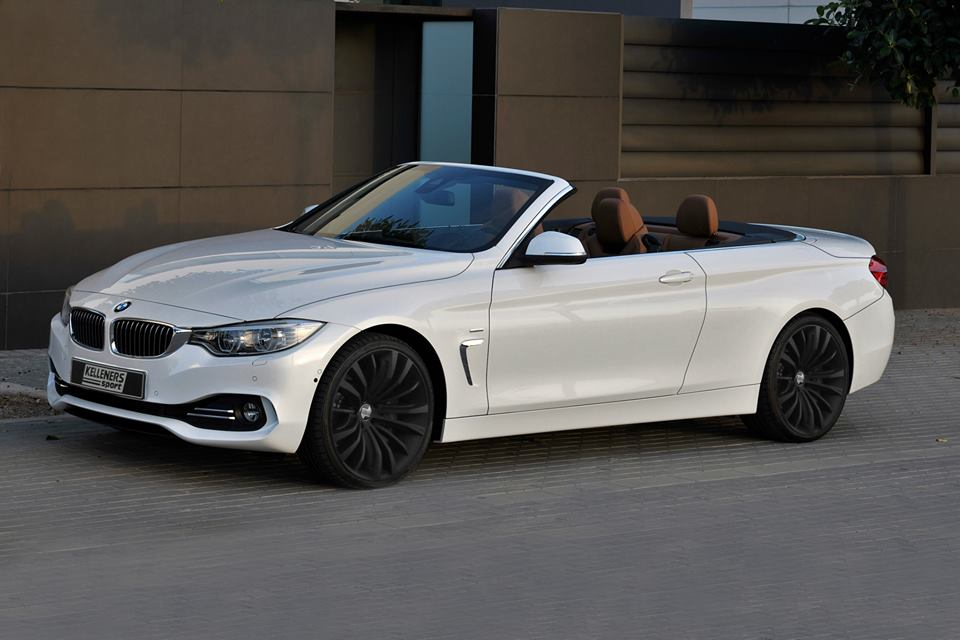 Bmw 4 Series Convertible Gets New Rims From Kelleners