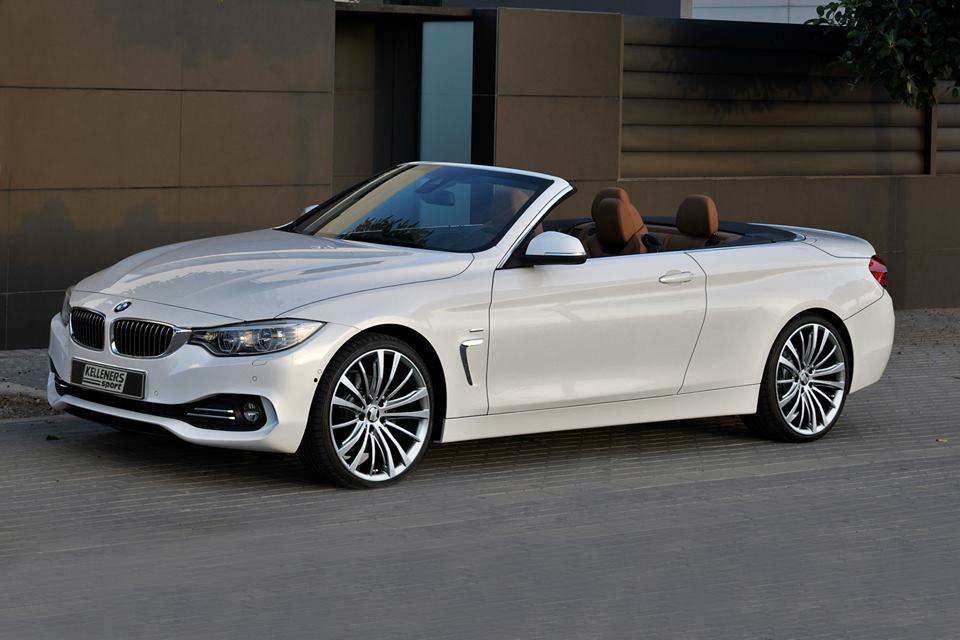 bmw 4 series convertible gets new rims from kelleners sport autoevolution. Black Bedroom Furniture Sets. Home Design Ideas
