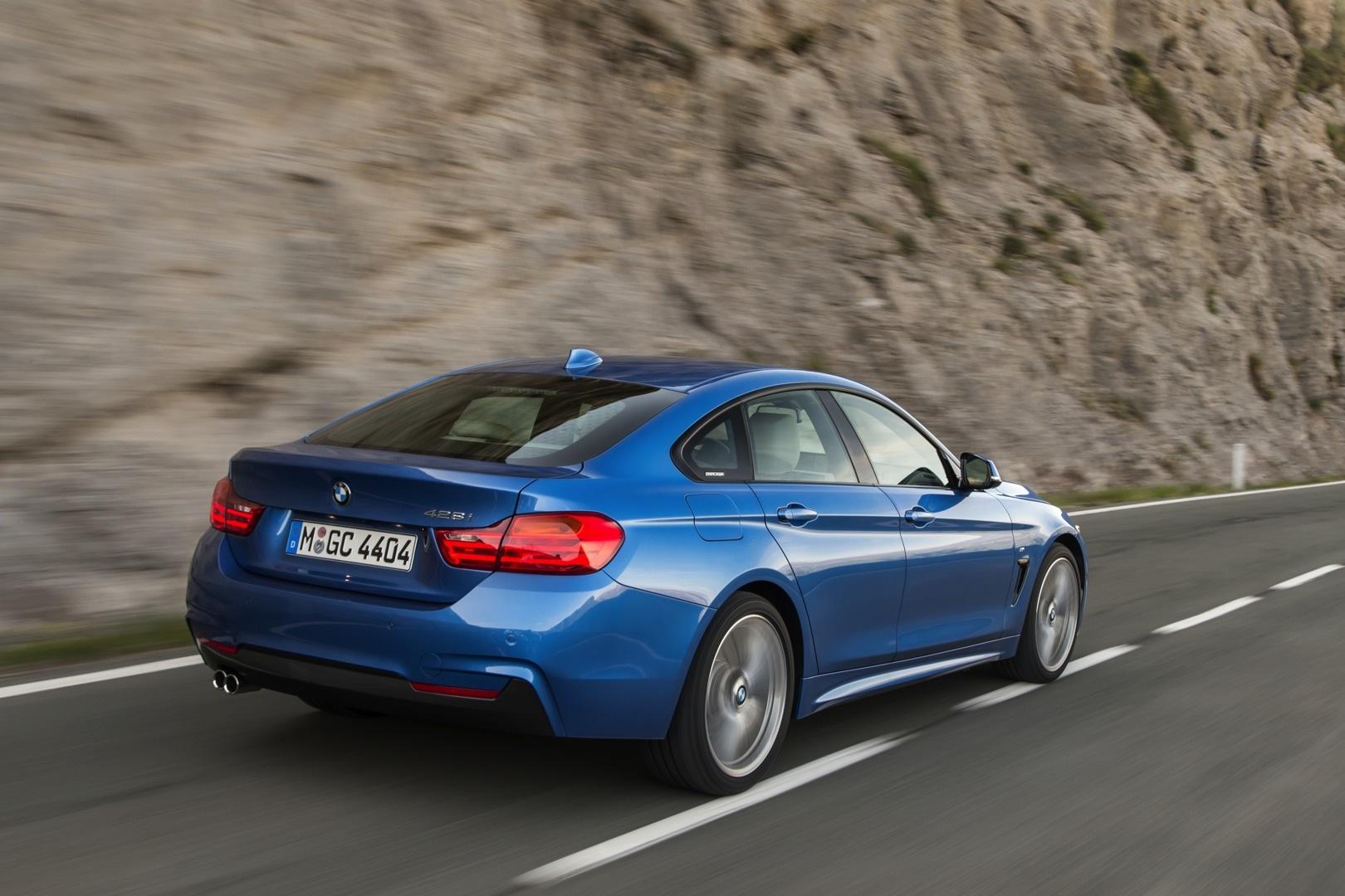 Estoril Blue BMW 428i Gran Coupe