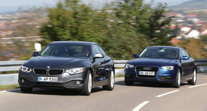 Bmw 420d vs audi a5 tdi comparative test autoevolution