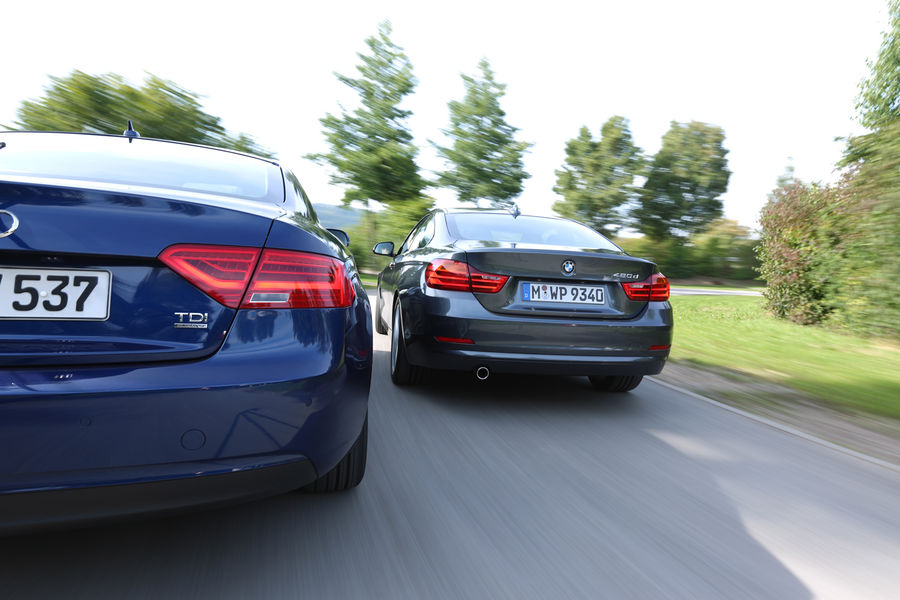 Audi A5 Vs Bmw 328I  Audi Gallery