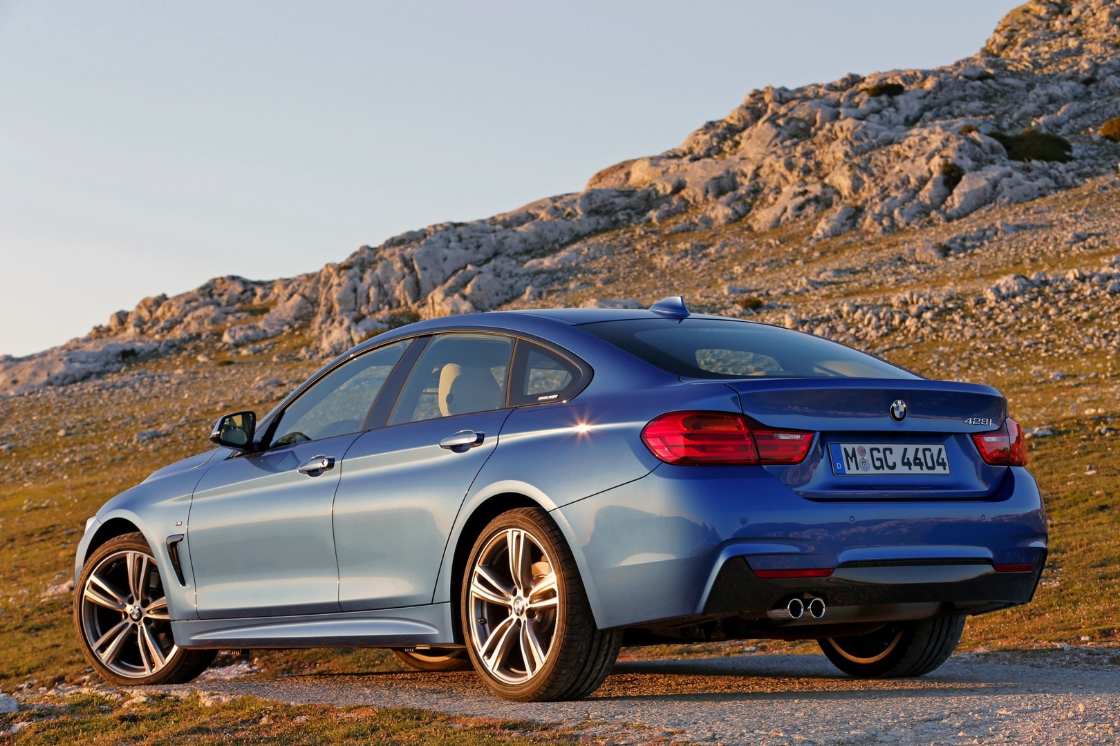 Bmw 428i Gran Coupe Shines Blue In New Official Photos Autoevolution