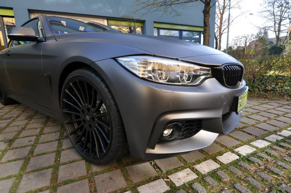 Bmw I Convertible Gets Centurion Grey Matte Wrap Photo Gallery