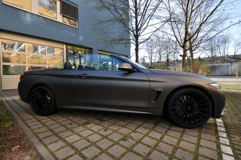 2017 Bmw 6 Series >> BMW 435i Convertible Gets Centurion Grey Matte Wrap - autoevolution