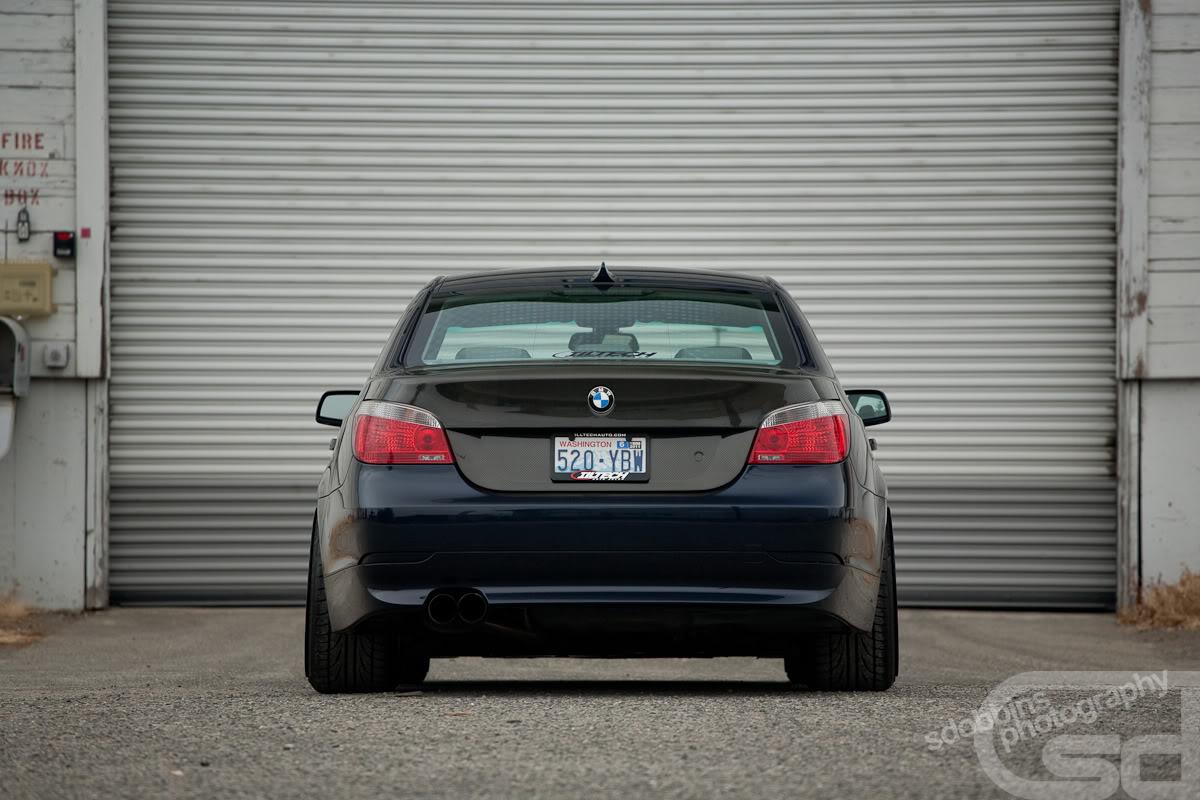 BMW 5 Series E60 Receives Light Aftermarket Treatment - autoevolution