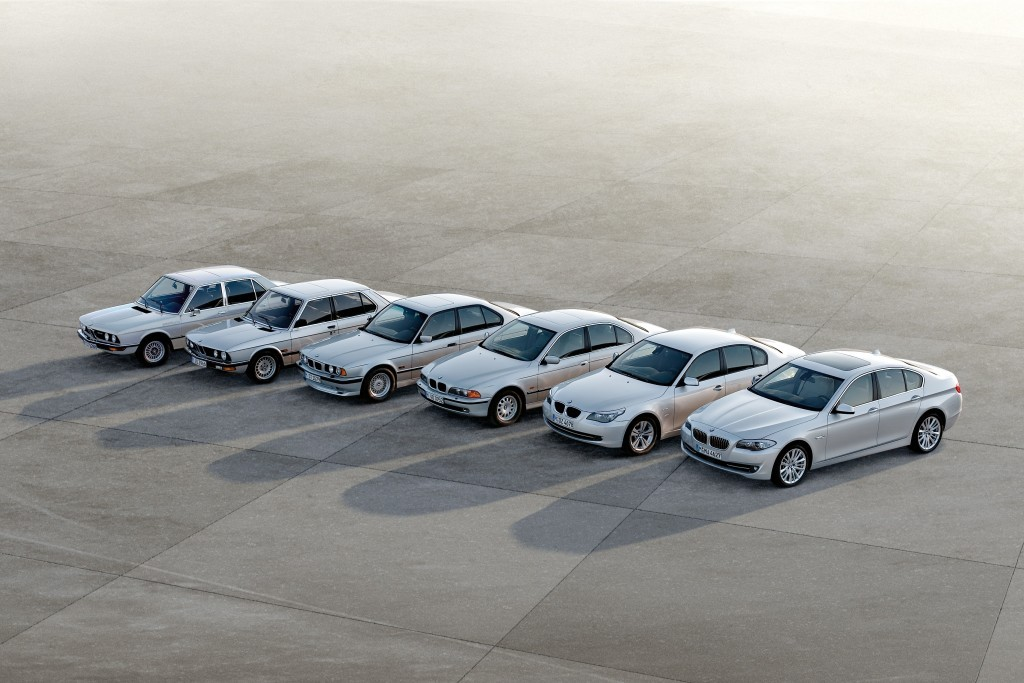 BMW Series Through The Years Up To The BMW G Series - Bmw 5 series pictures