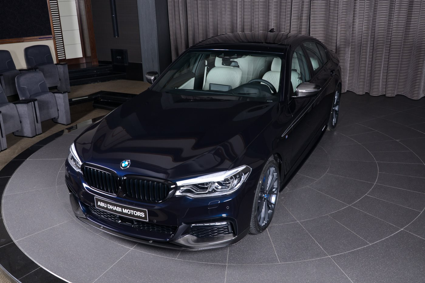 BMW 540i with M Performance Carbon Kit Sports Carbon Black ...