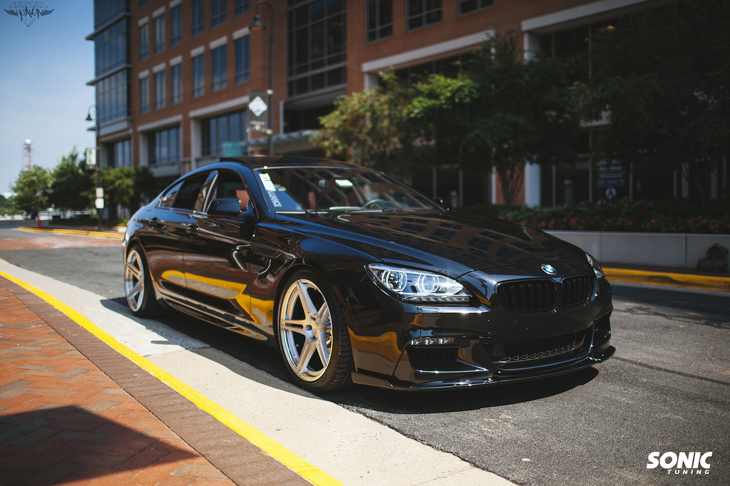 Bmw M6 Gran Coupe >> BMW 6 Series Gran Coupe by Sonic Tuning Is Just Right - autoevolution