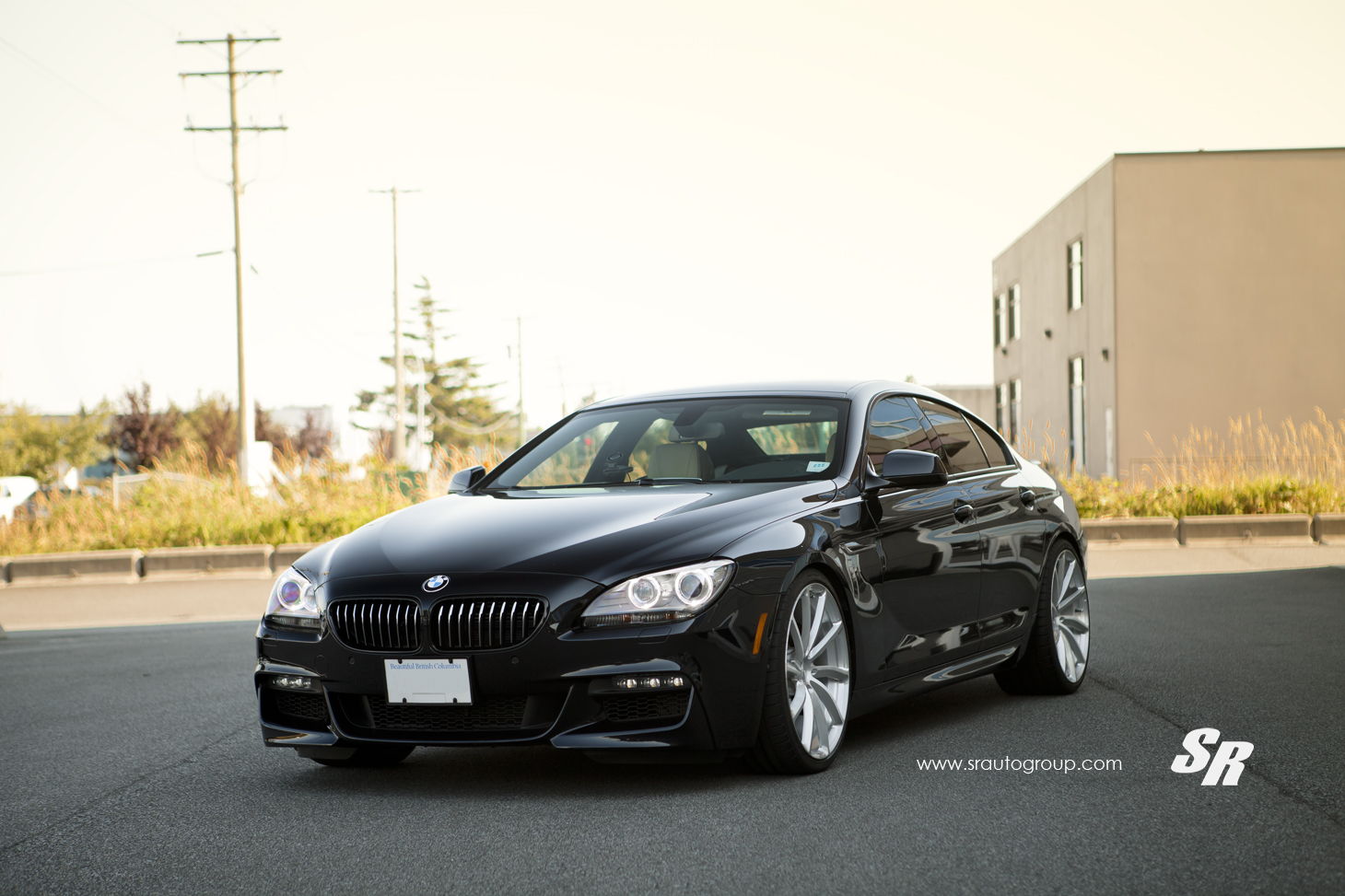 Bmw 6 series gran coupe gets serious on pur wheels autoevolution