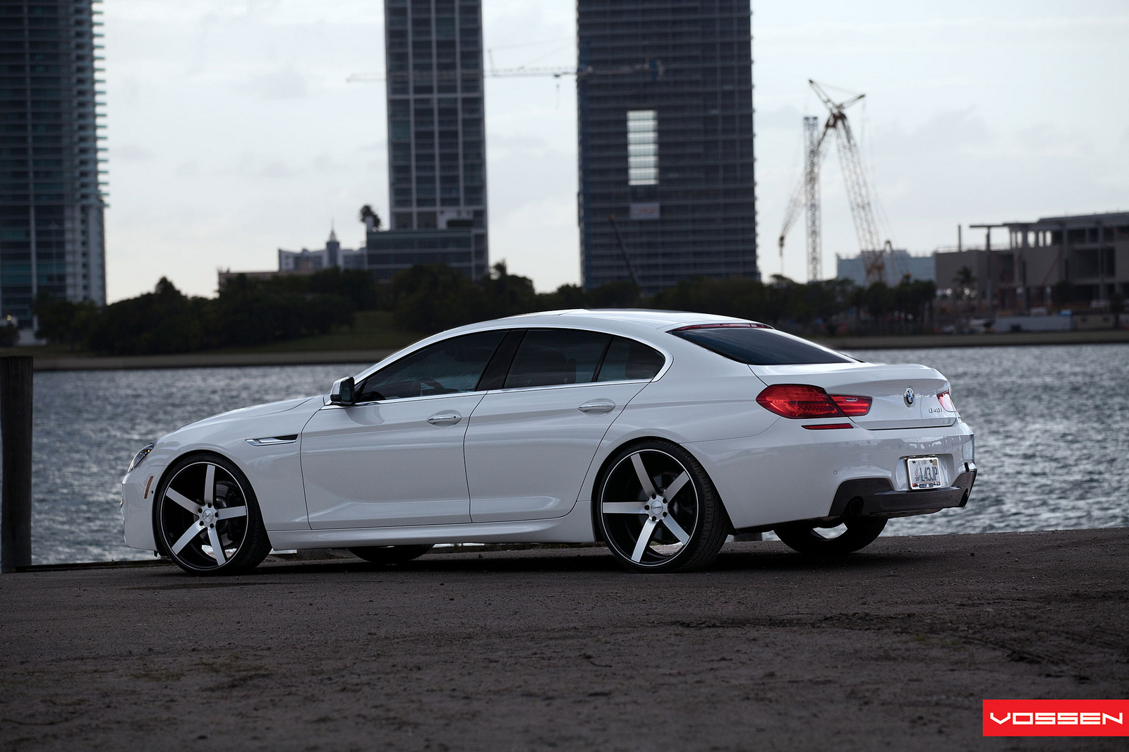 Bmw 6 Series Gran Coupe On 22 Inch Vossen Wheels