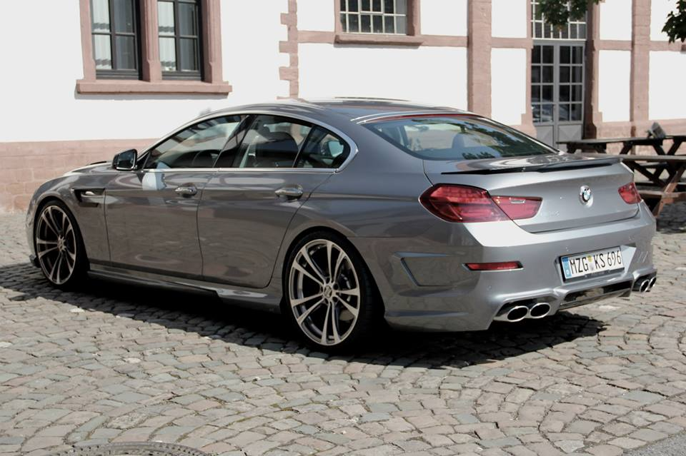 bmw 6 series gran coupe preview by kelleners sport autoevolution. Black Bedroom Furniture Sets. Home Design Ideas