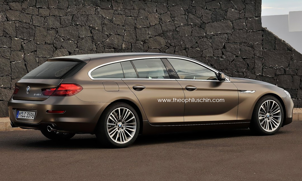 bmw 6 series gran touring rendering released autoevolution. Black Bedroom Furniture Sets. Home Design Ideas